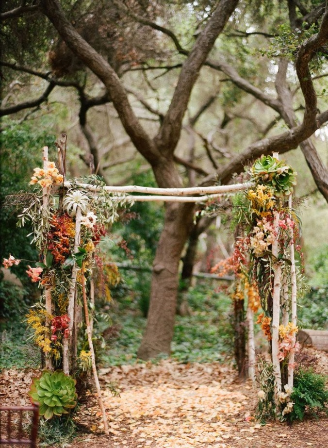 Flores y bosque