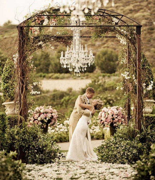 boda romántica
